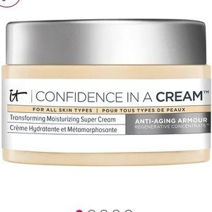 NEW it Cosmetics moisturizing super cream